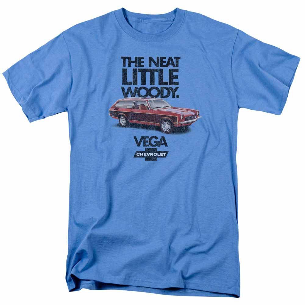 Chevy Vega The Neat Little Woody Blue T-Shirt