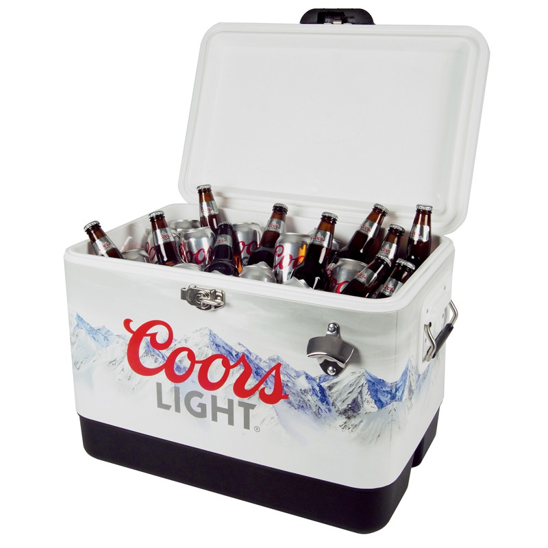 Coors Light Stainless Steel Ice Chest Cooler