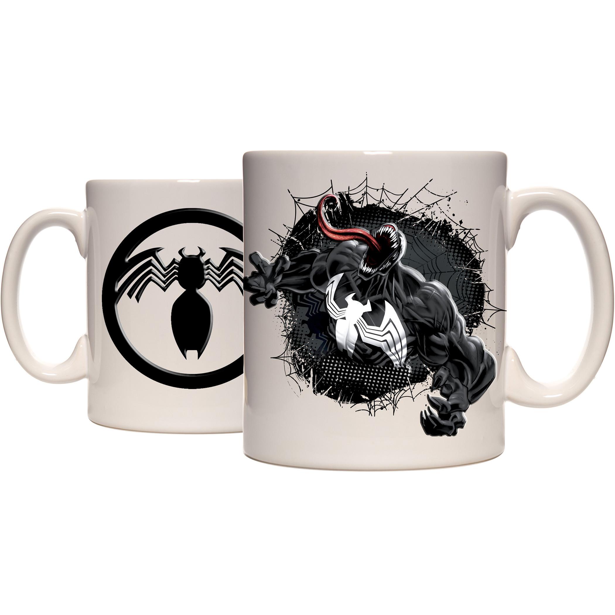 Venom Breakthrough Embossed Ceramic Mug