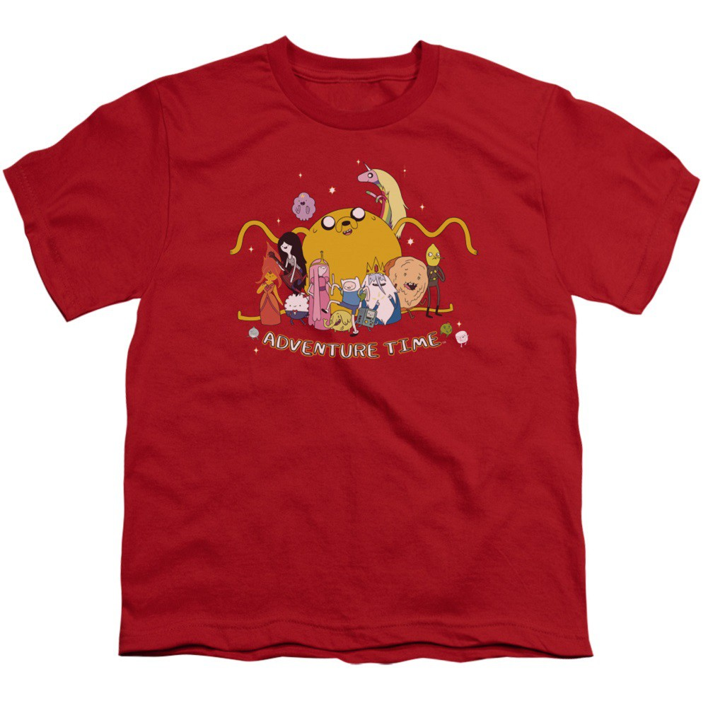 Adventure Time All The Friends Youth Tshirt