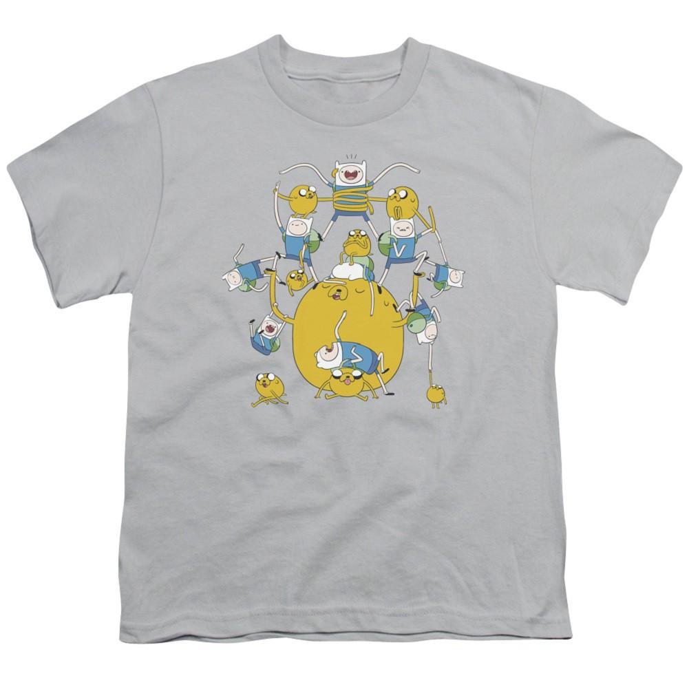 Adventure Time Finn and Jake Having Fun Youth Tshirt
