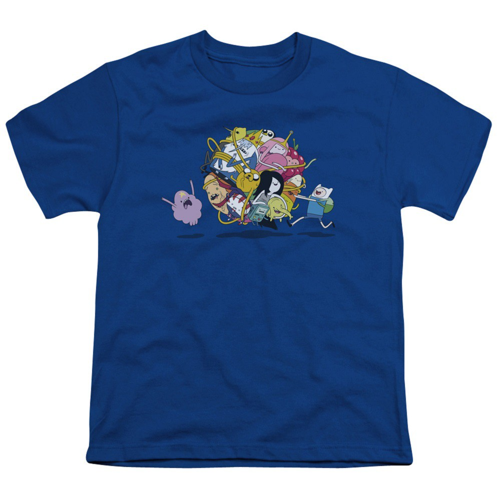Adventure Time Ball Of Friends Youth Tshirt