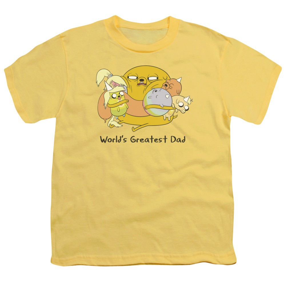 Adventure Time Worlds Greatest Dad Youth Tshirt