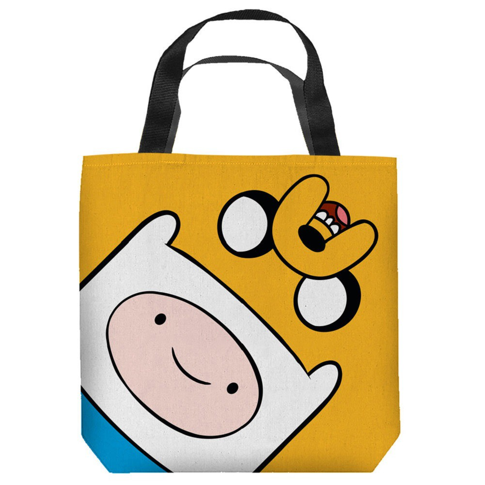 Adventure Time Finn and Jake Tote Bag