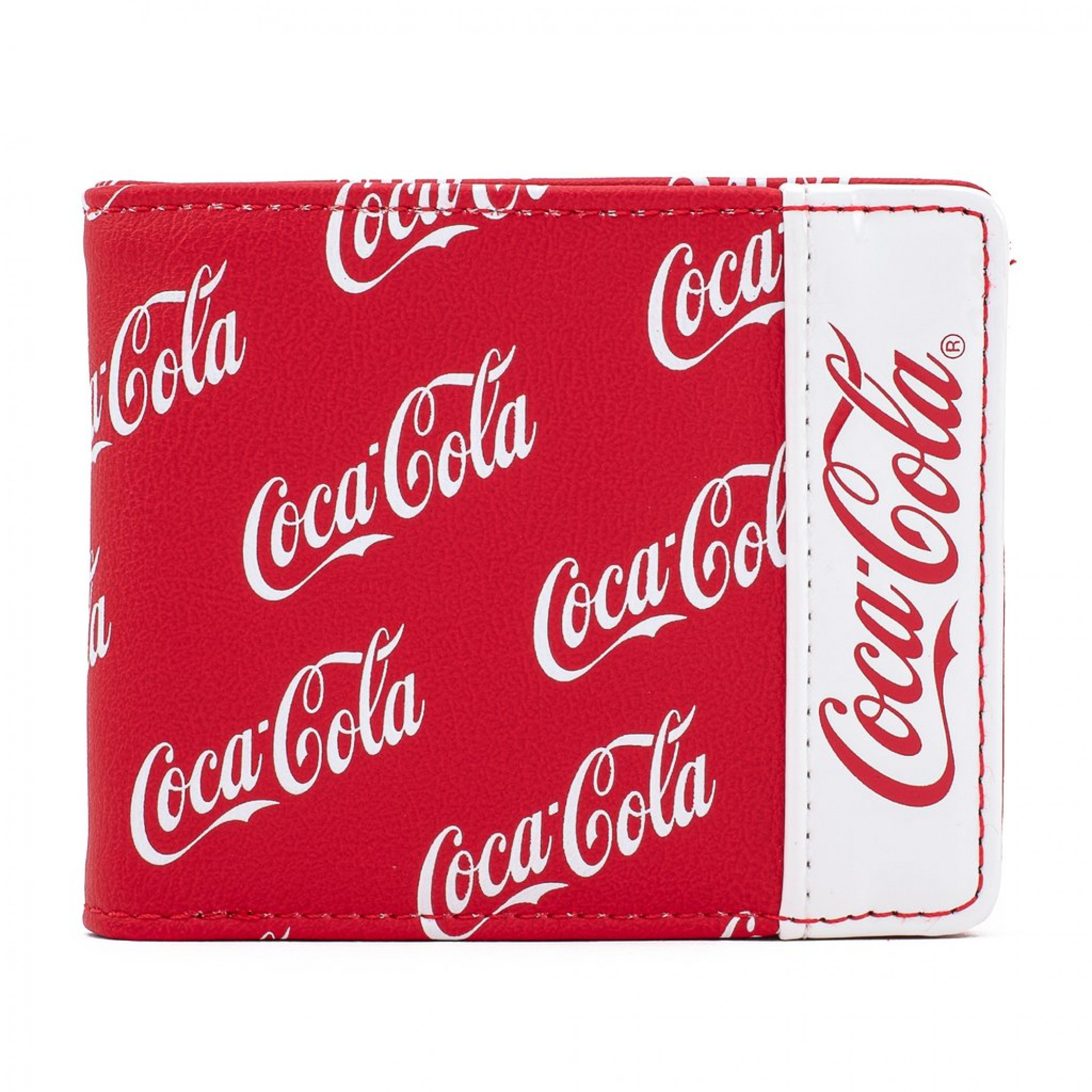 Coca Cola Logo Bifold Wallet by Loungefly