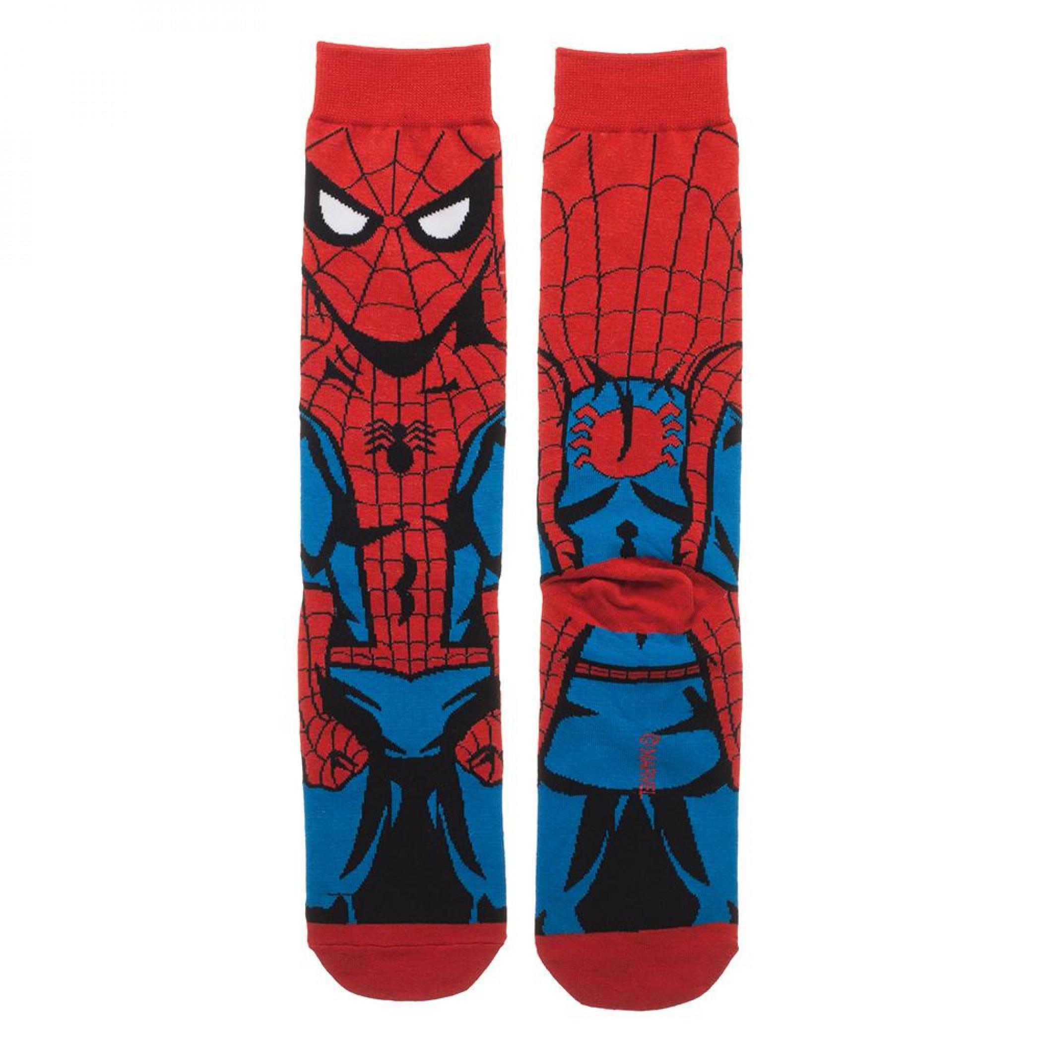 Spider-Man Classic 360 Character Crew Socks