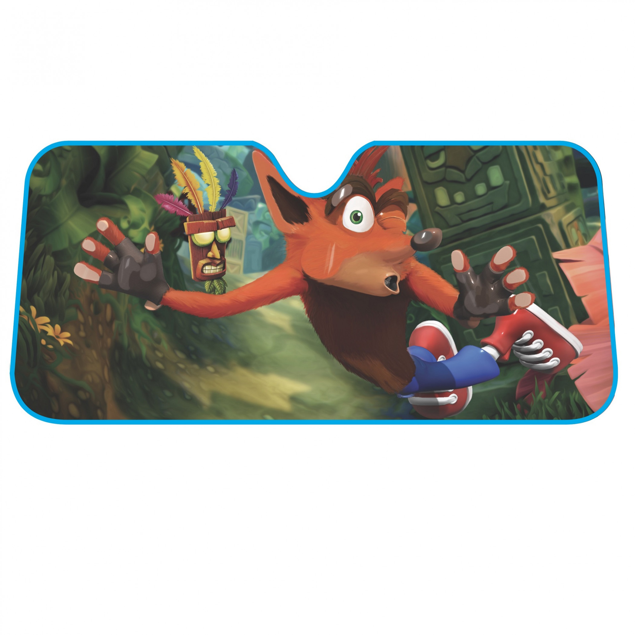 Crash Bandicoot Car Shade