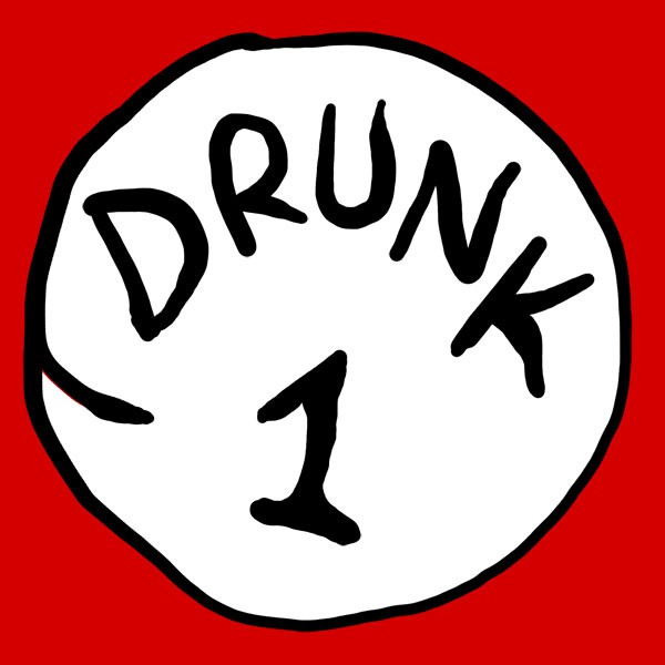 Drunk 1 Bottle Opener Juniors Red T-Shirt