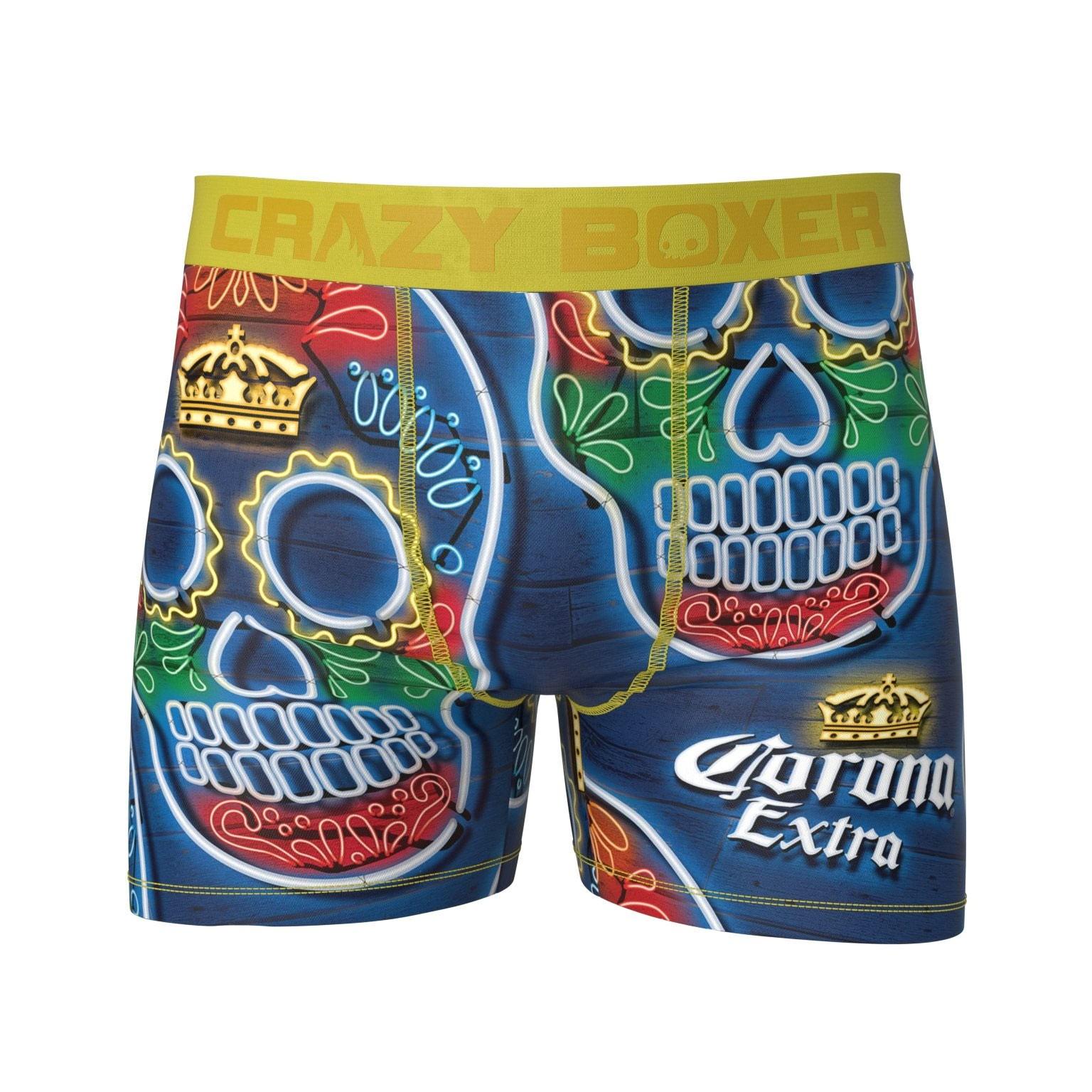 Corona Sugar Skull Men's Boxer Briefs