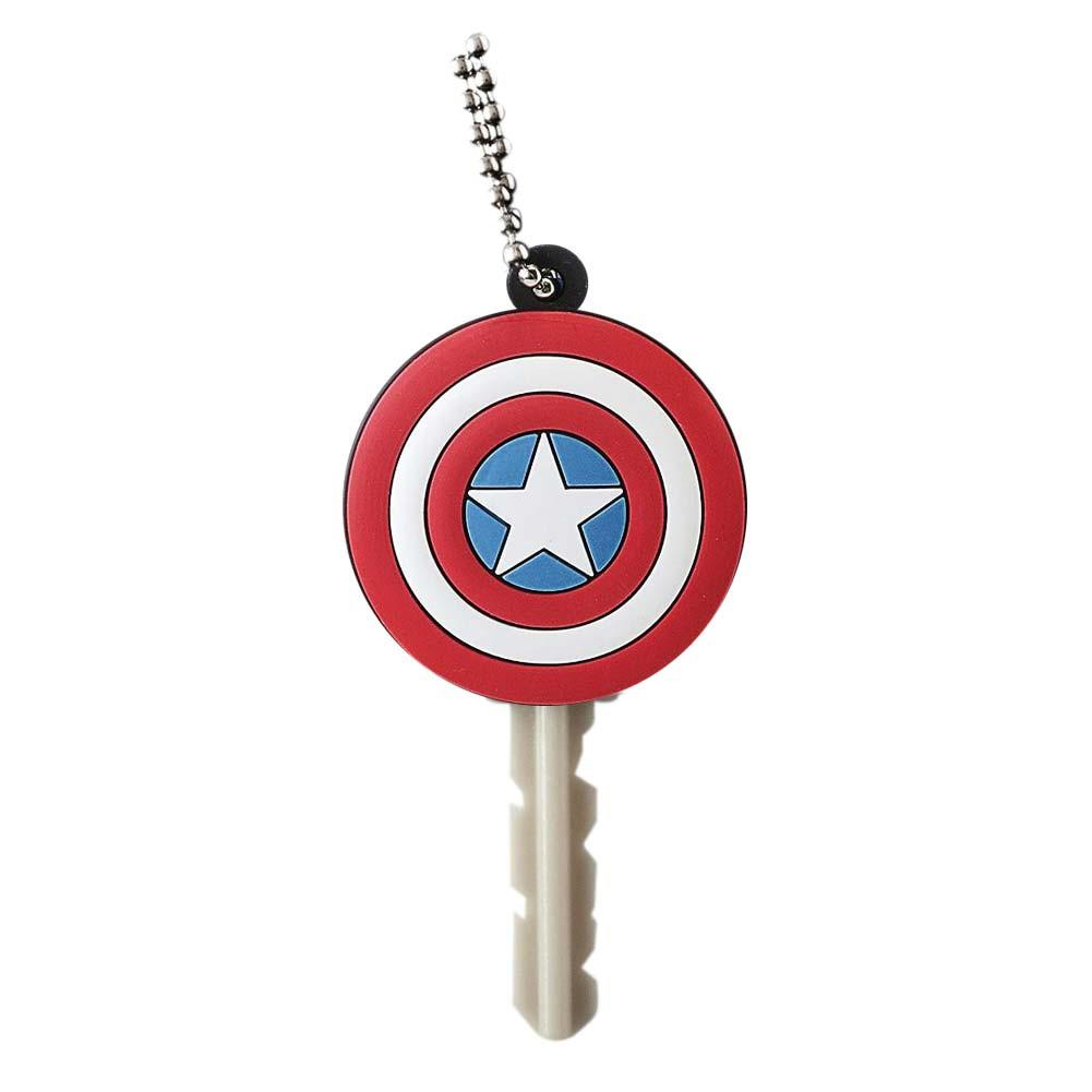 Captain America Rubber Key Holder