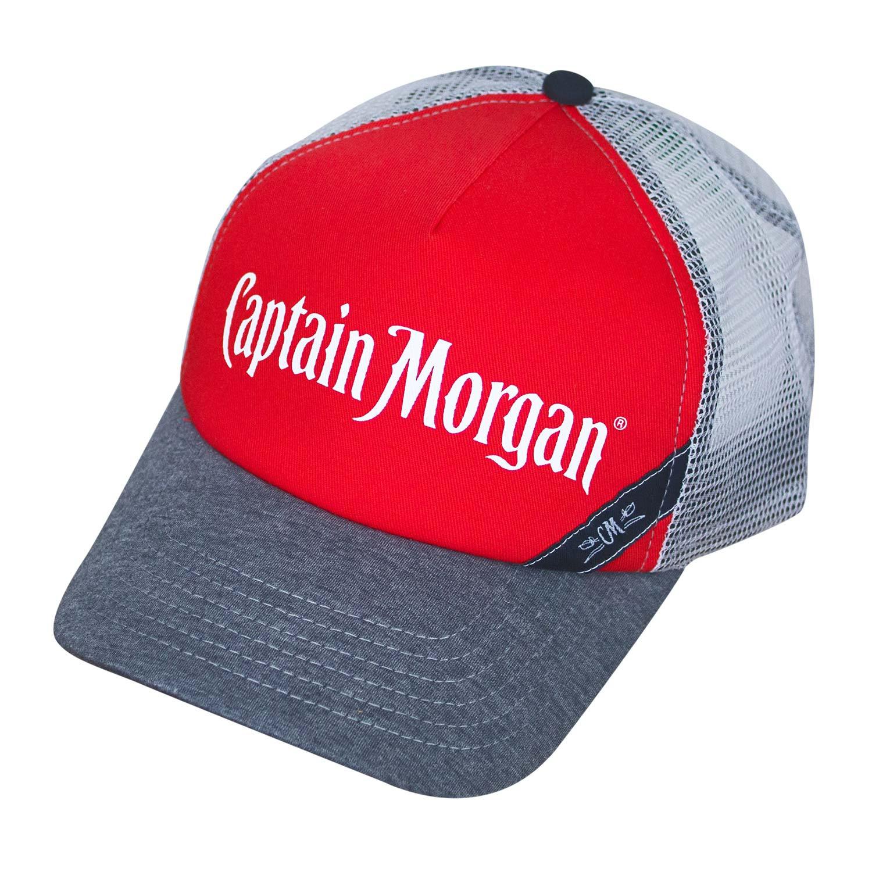 Captain Morgan White Mesh Trucker Hat
