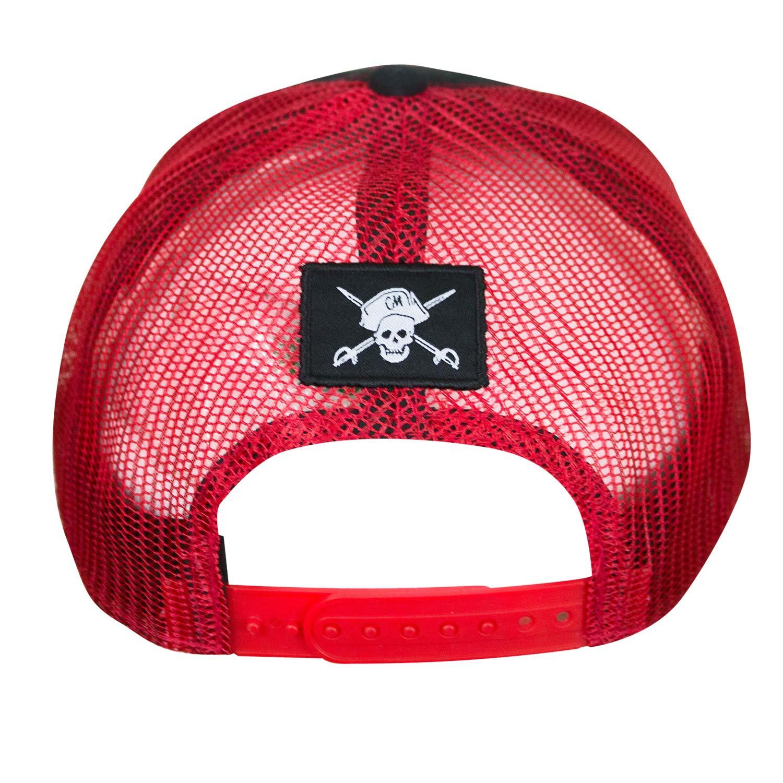 Captain Morgan Black Trucker Hat