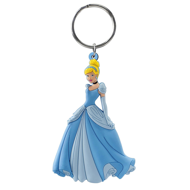 Disney Cinderella Soft Touch PVC Keychain