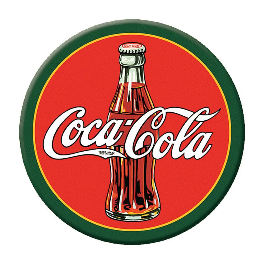 Coca-Cola Round Logo Magnet