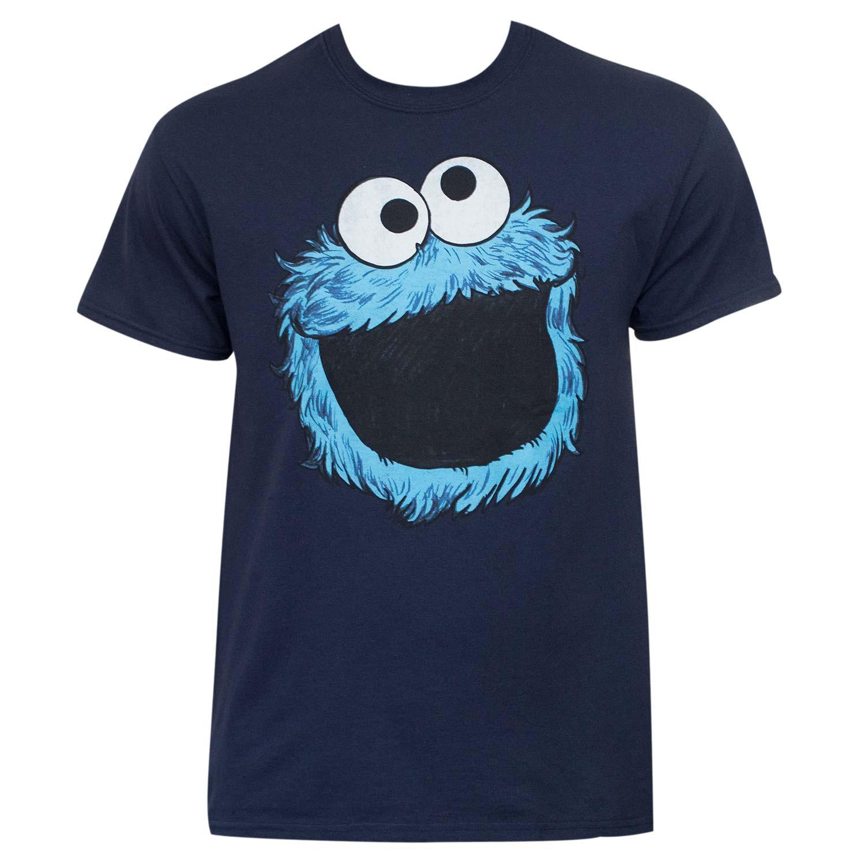 Sesame Street Cookie Monster Face Shirt