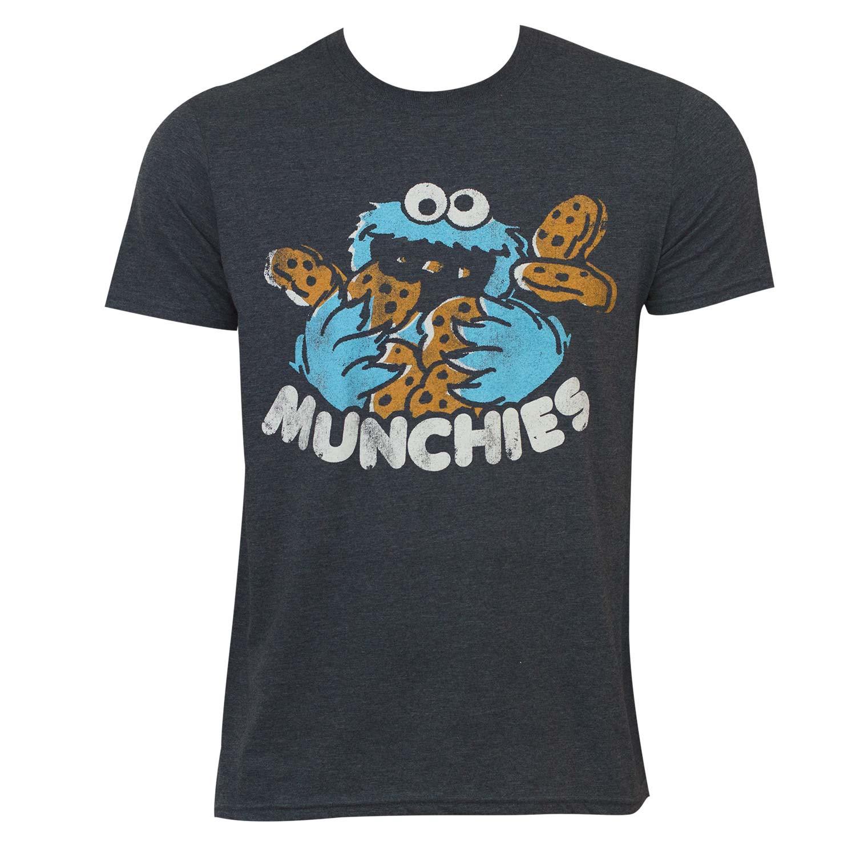 Sesame Street Grey Munchies Tee Shirt