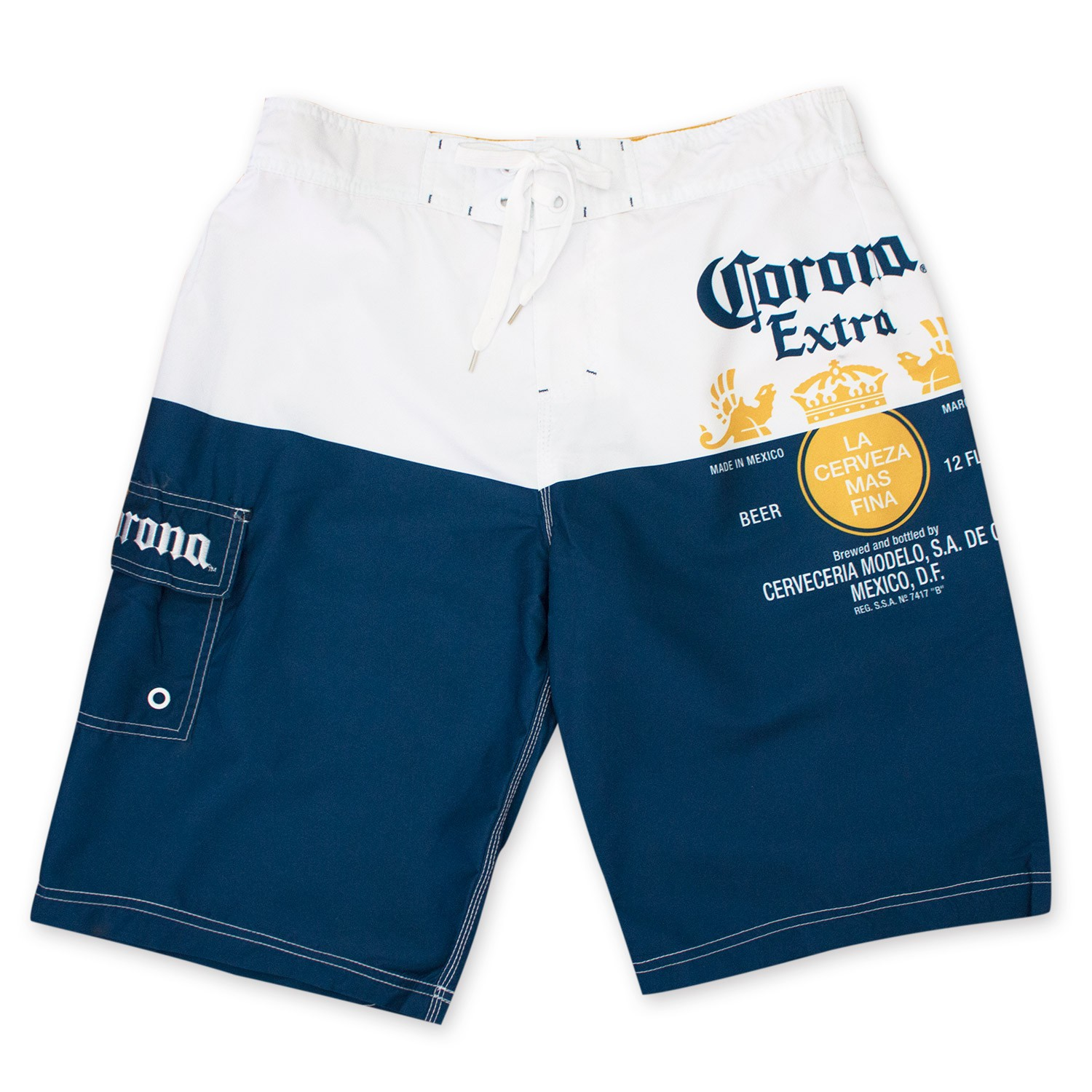 Corona Extra Label Board Shorts