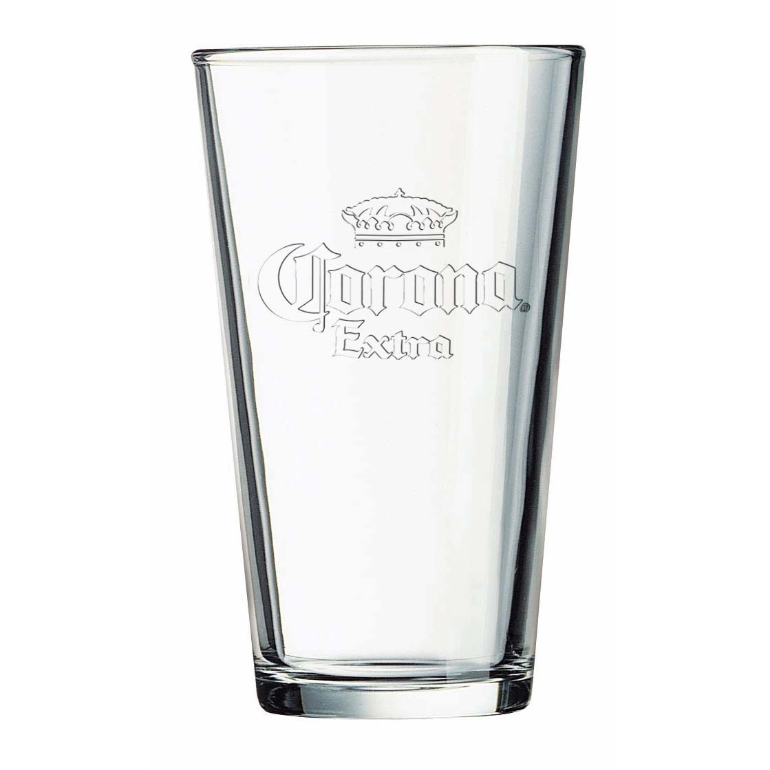 Corona Extra Stamped Logo Pint Glass