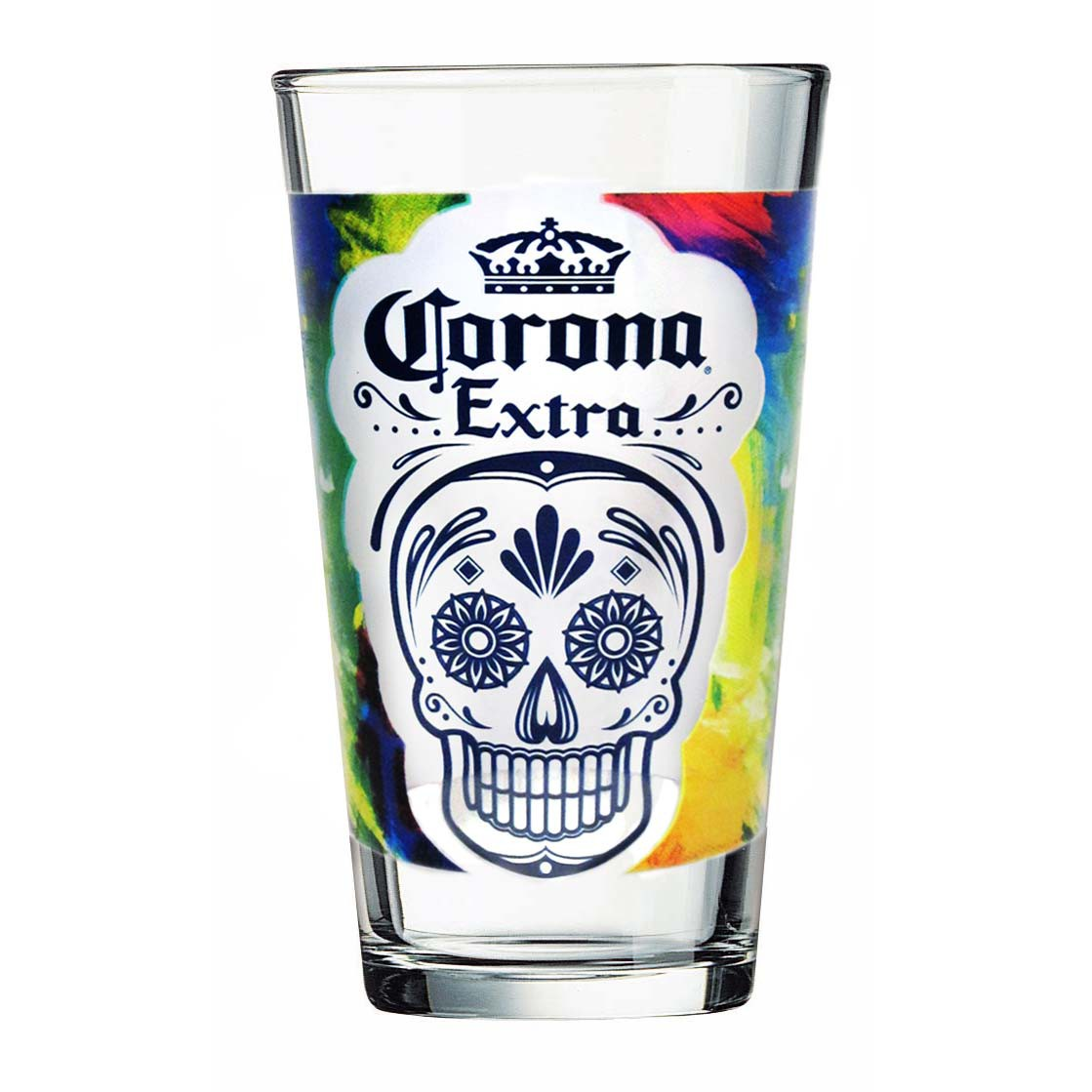 Corona Extra Day Of The Dead Pint Glass
