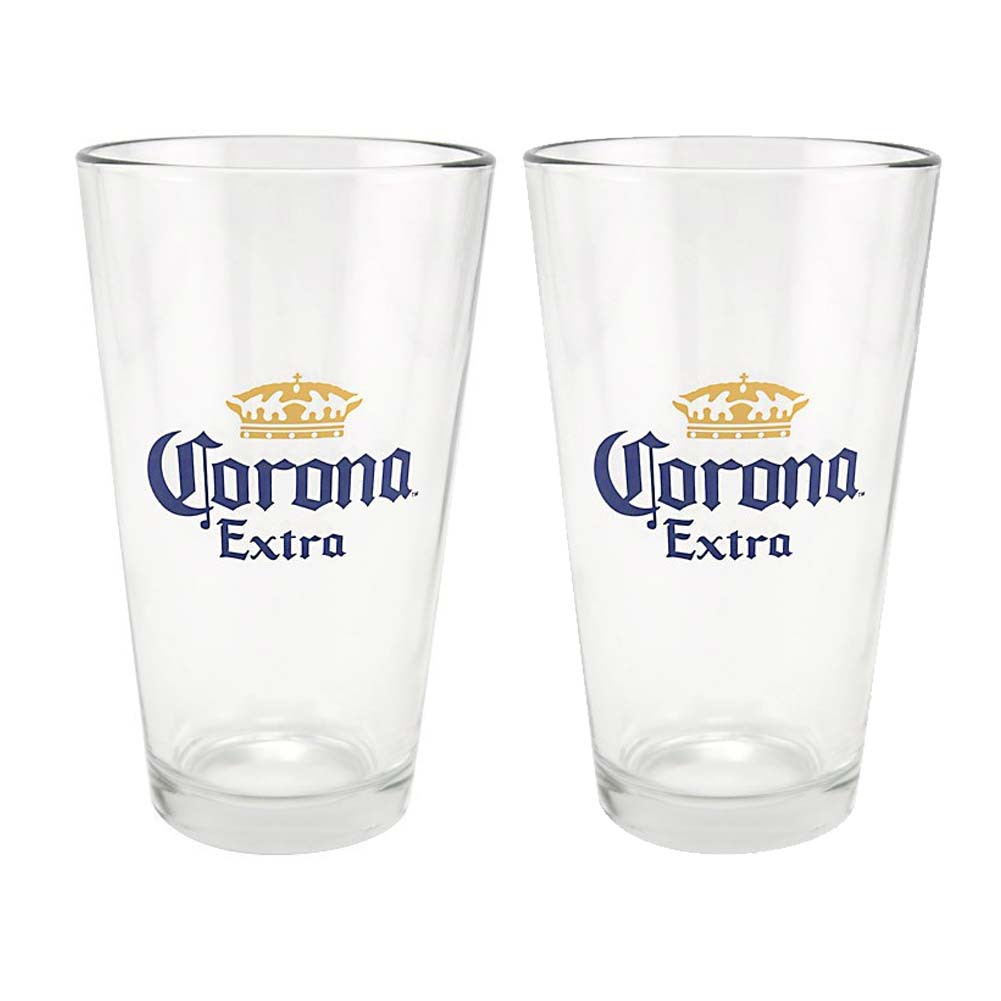 Corona Extra 2 Pack Pint Glasses
