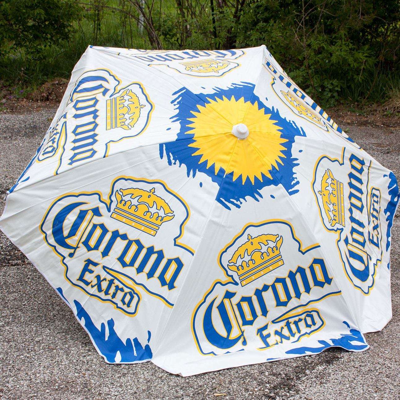 Corona Extra Heavy Duty Vinyl Patio Table Umbrella