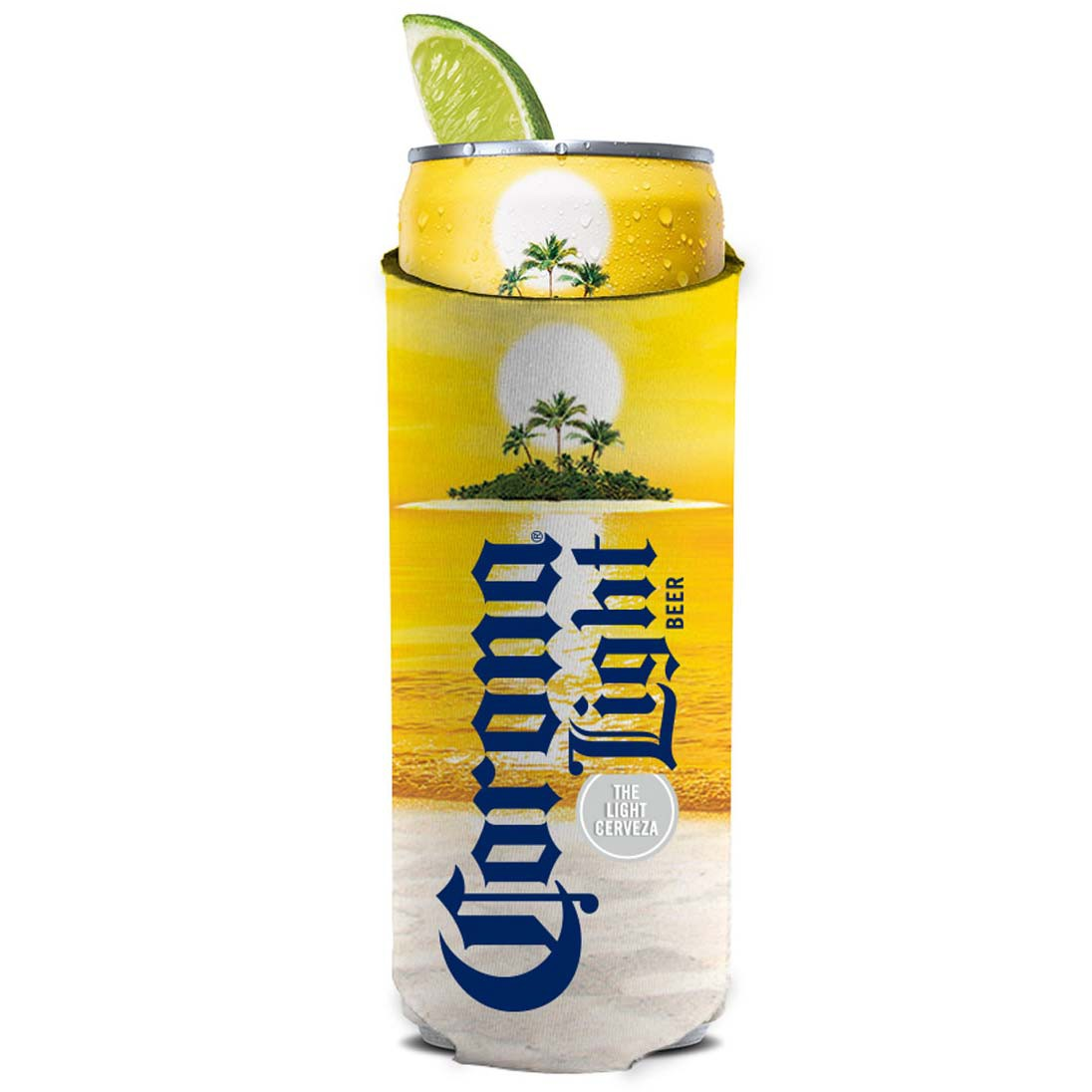 Corona Light 12 Ounce Slim Can Cooler