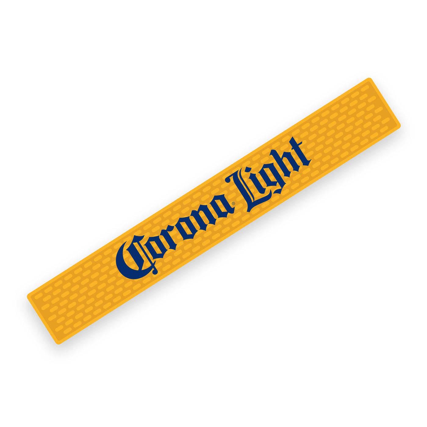 Corona Light Yellow Beer Bar Mat