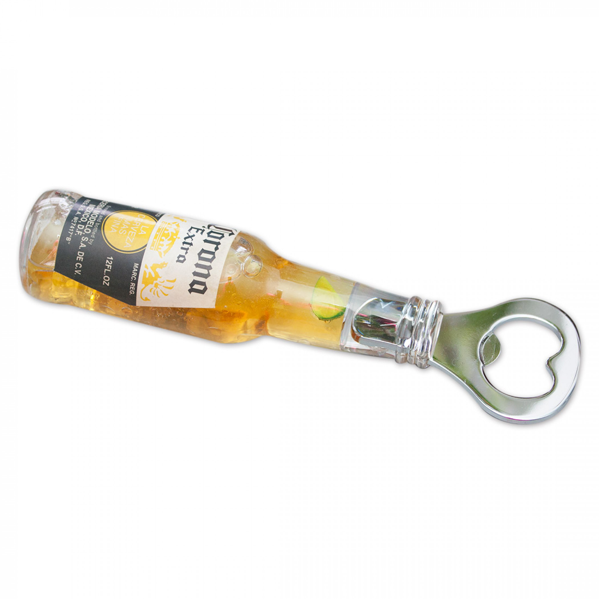 Corona Extra Floating Lime Bottle Opener