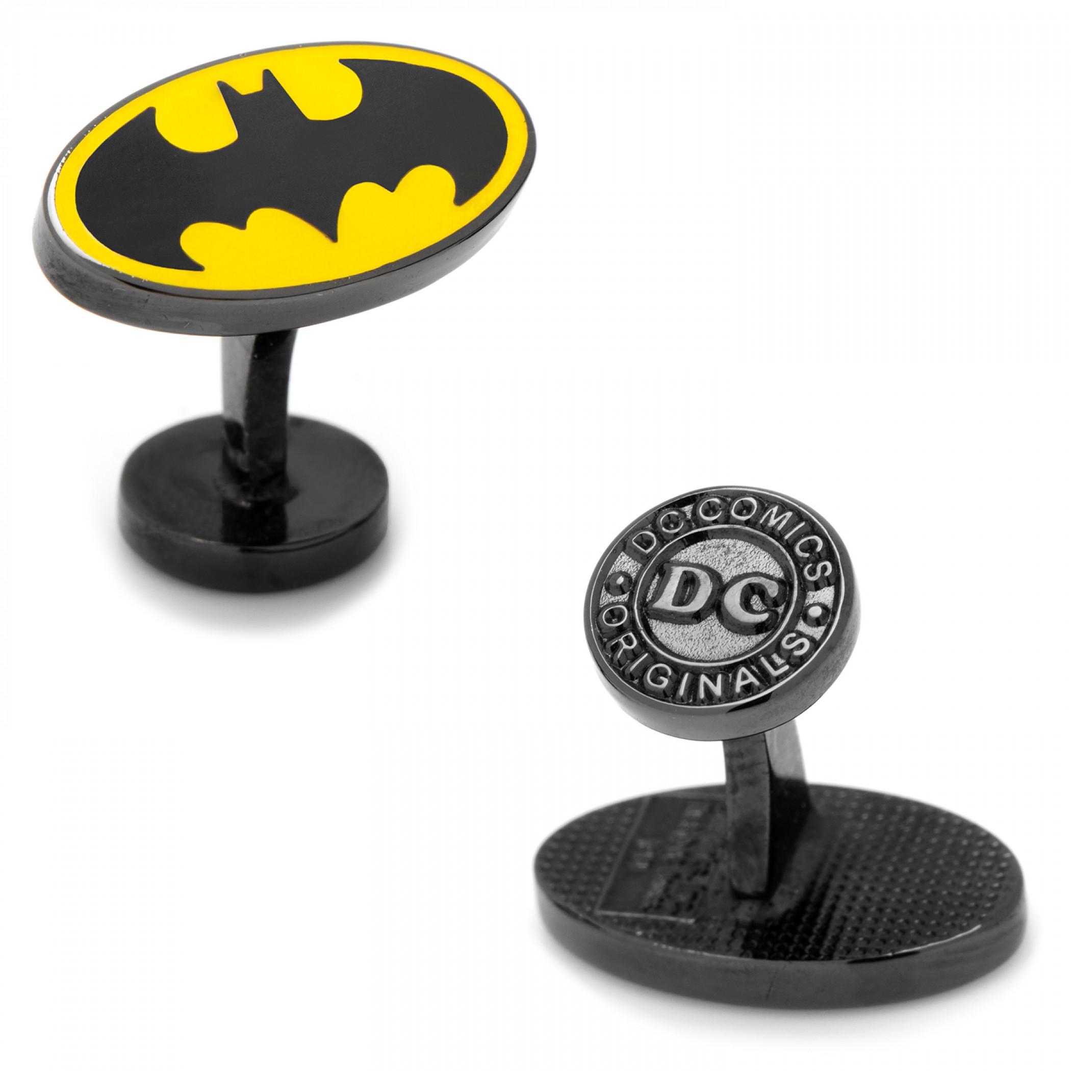 Batman Retro Logo Cufflinks