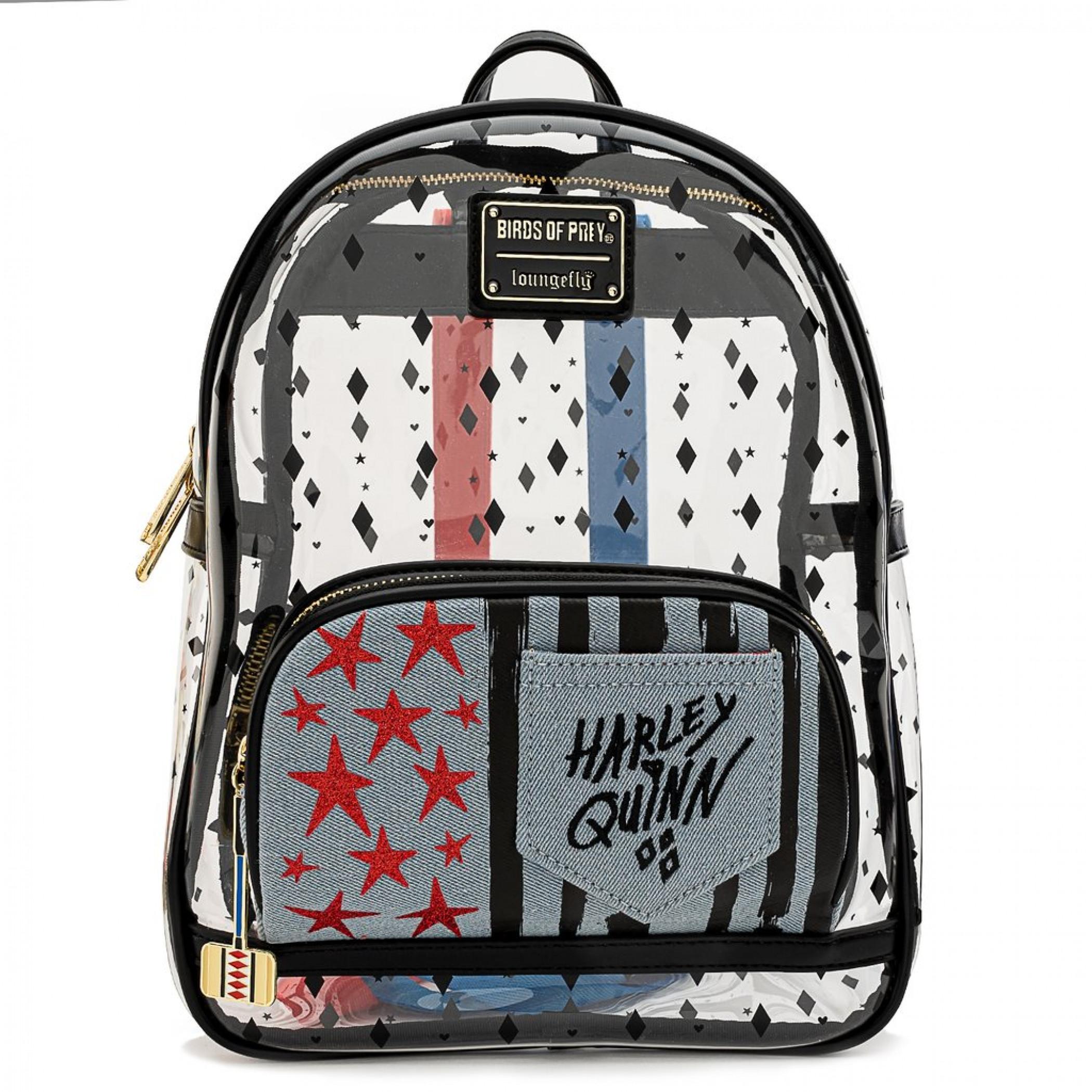 Birds of Prey Harley Quinn Mini Backpack