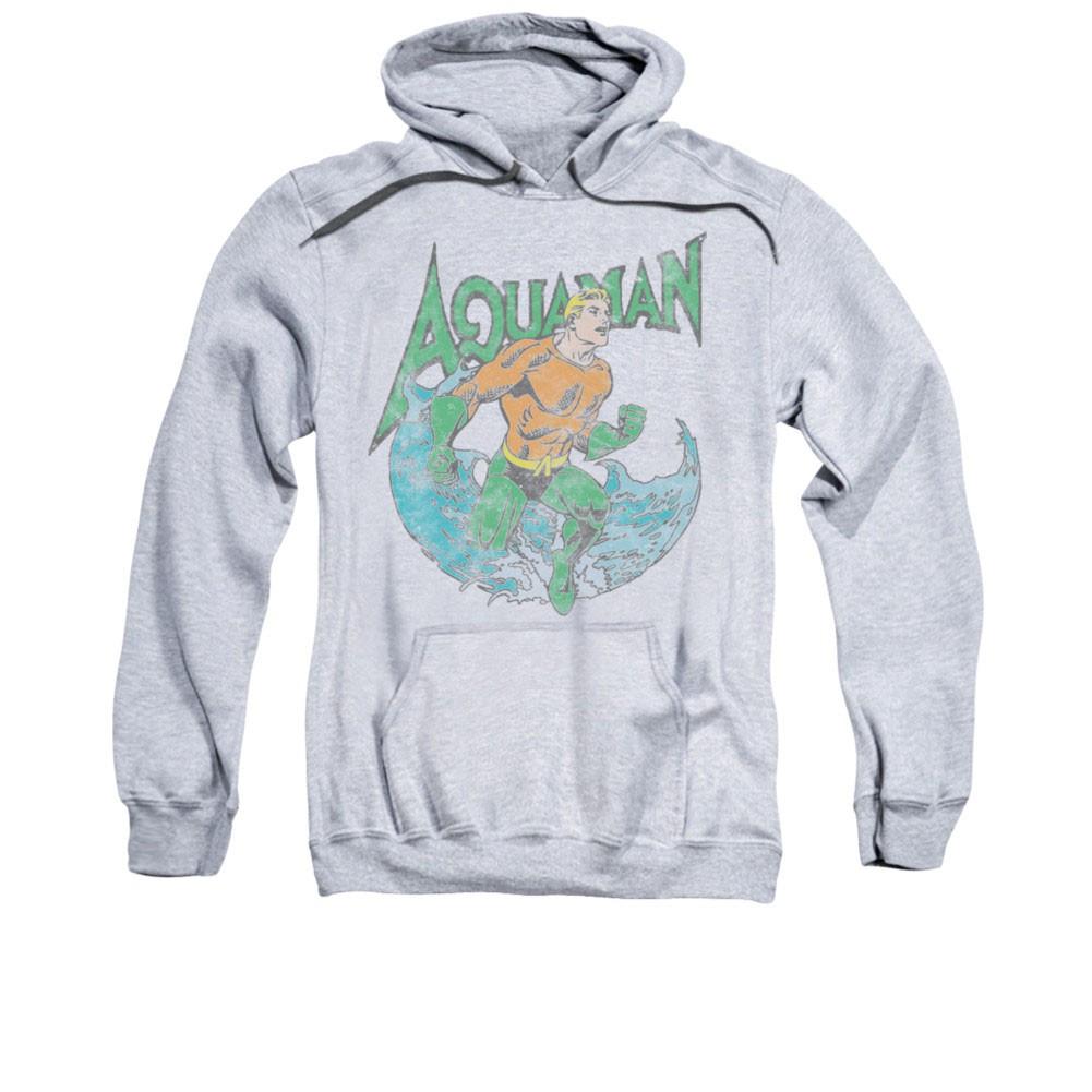 Aquaman Marco Men's Gray Pullover Hoodie