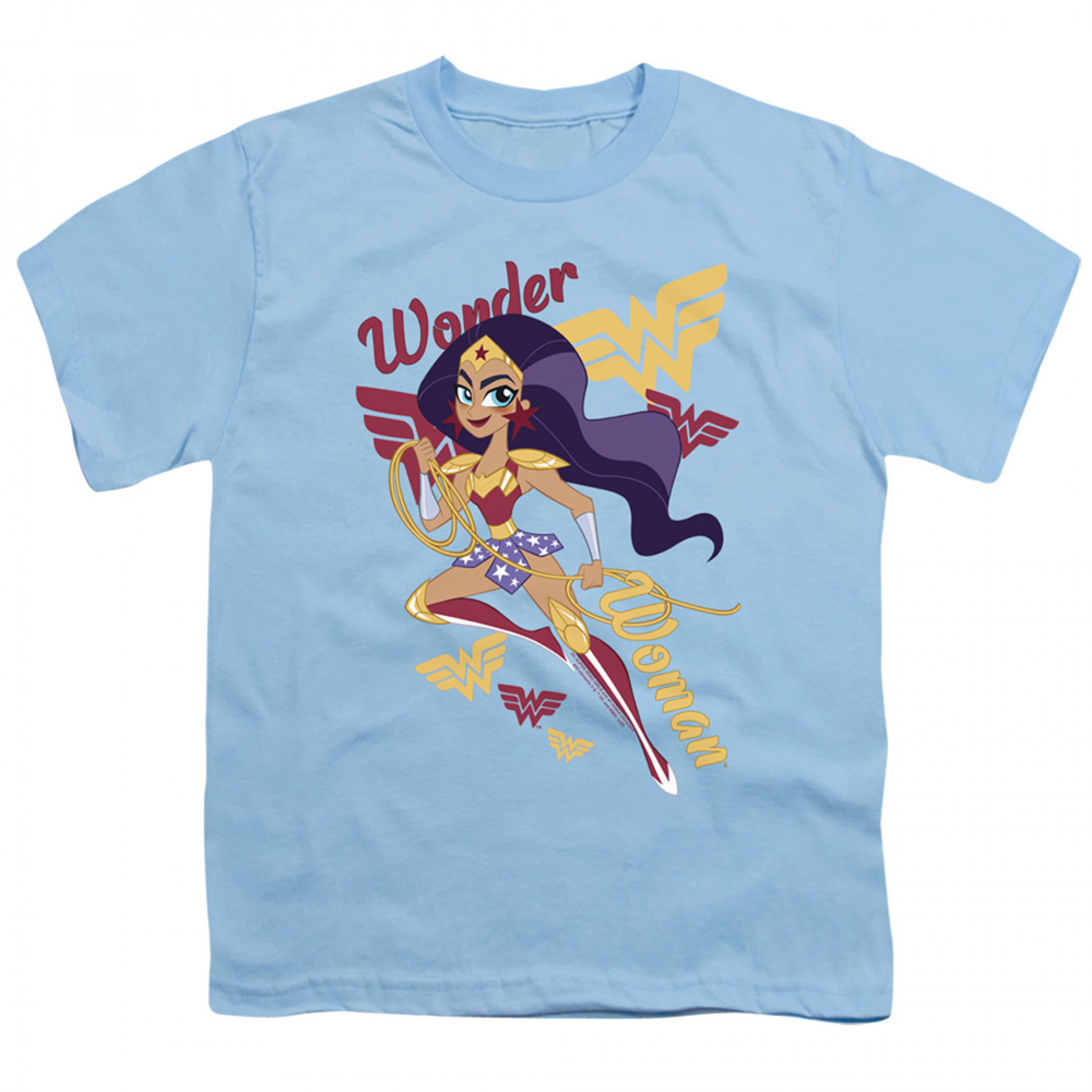 DC Super Hero Girls Wonder Woman Youth T-Shirt