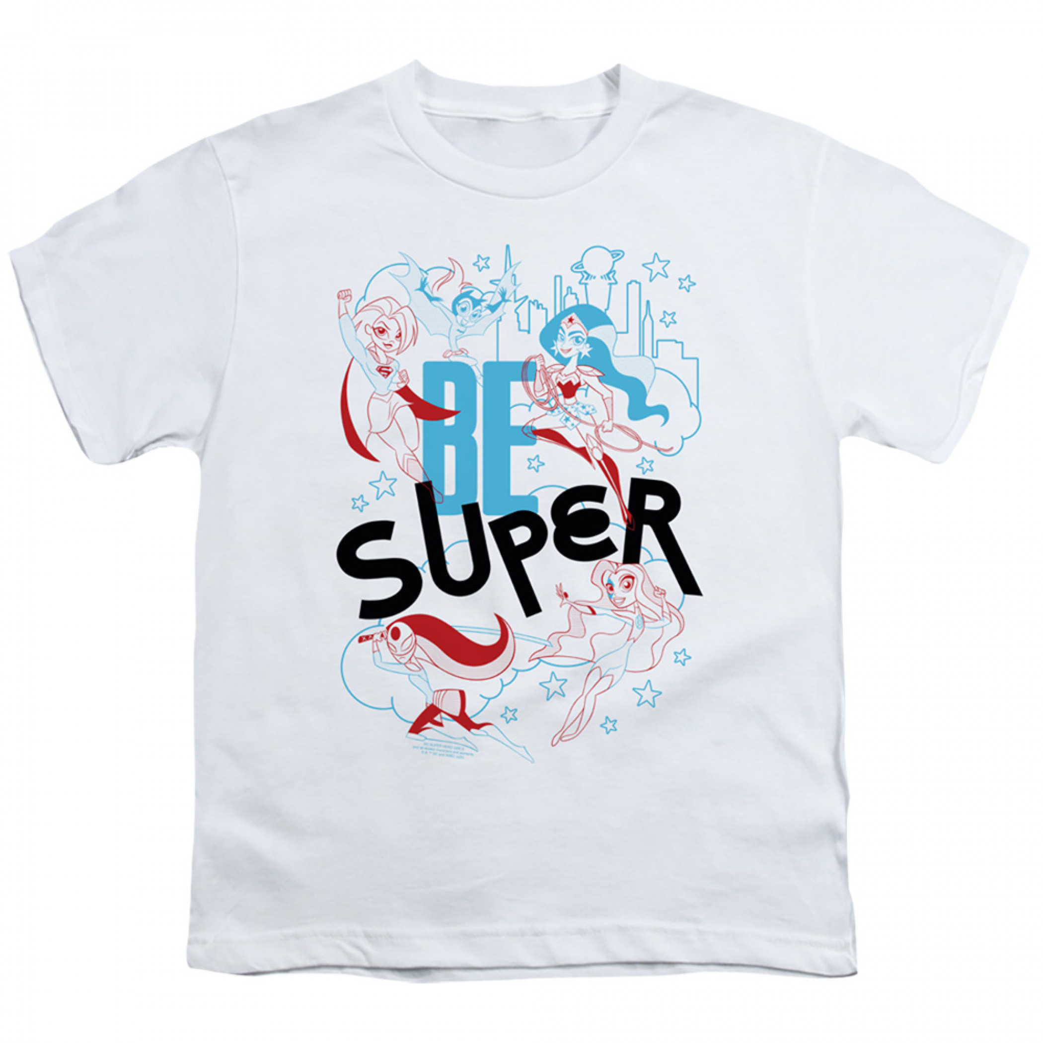 DC Super Hero Girls Be Super Youth T-Shirt