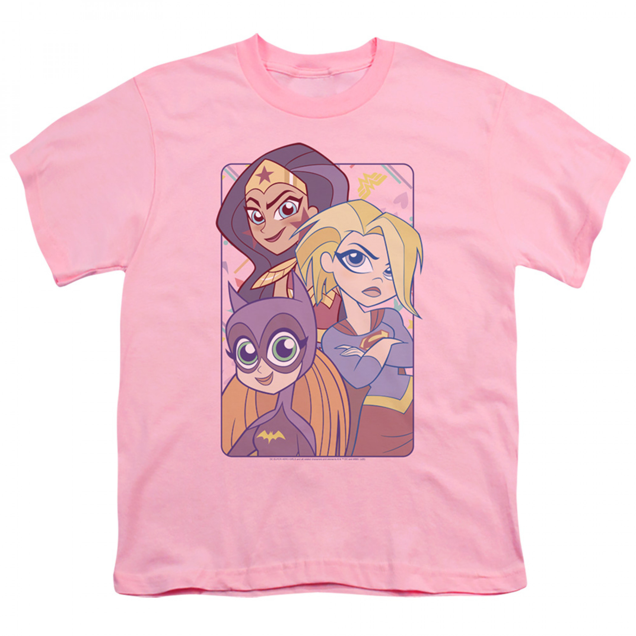 DC Super Hero Girls Don't Box Us In Youth T-Shirt