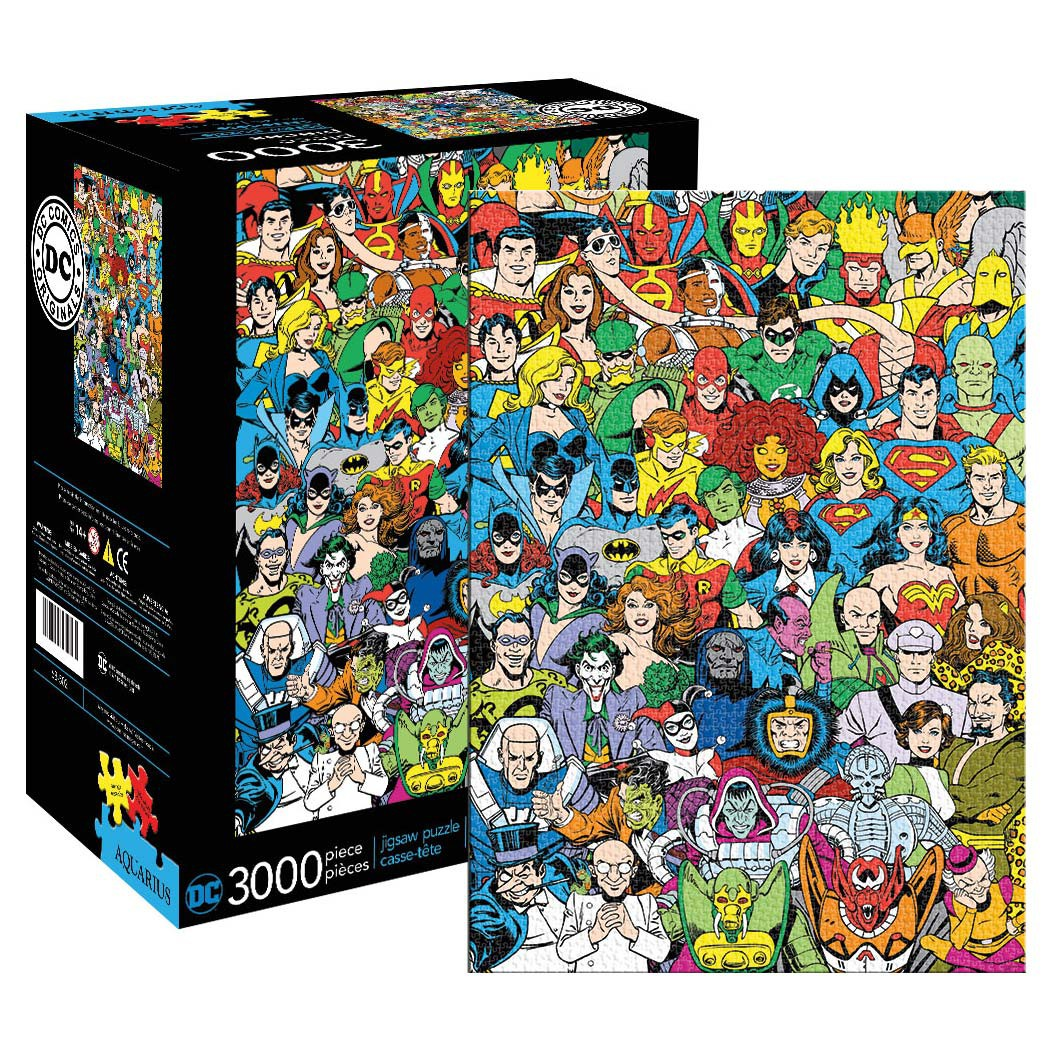 DC Comics Retro Puzzle