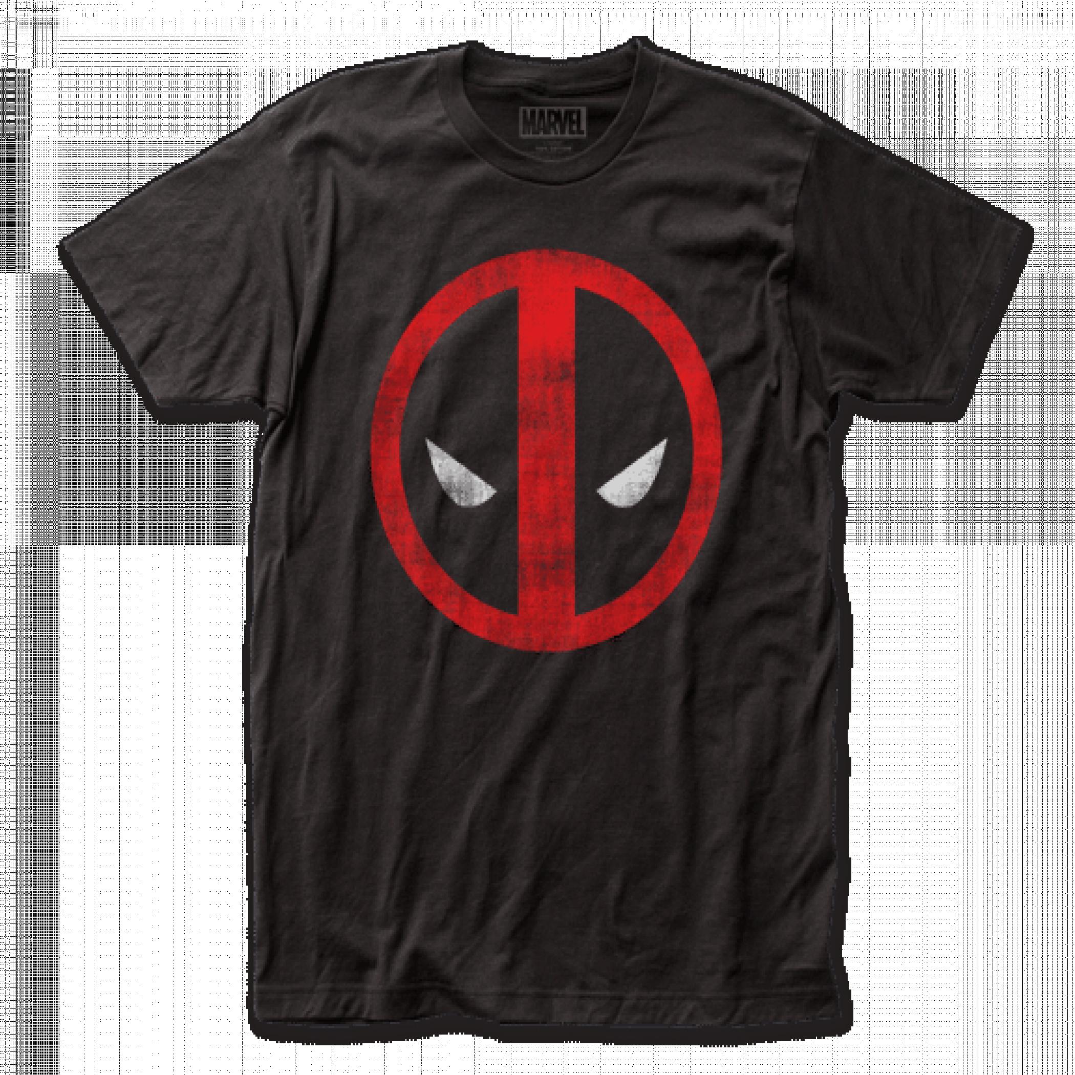 Deadpool Distressed Logo T-Shirt
