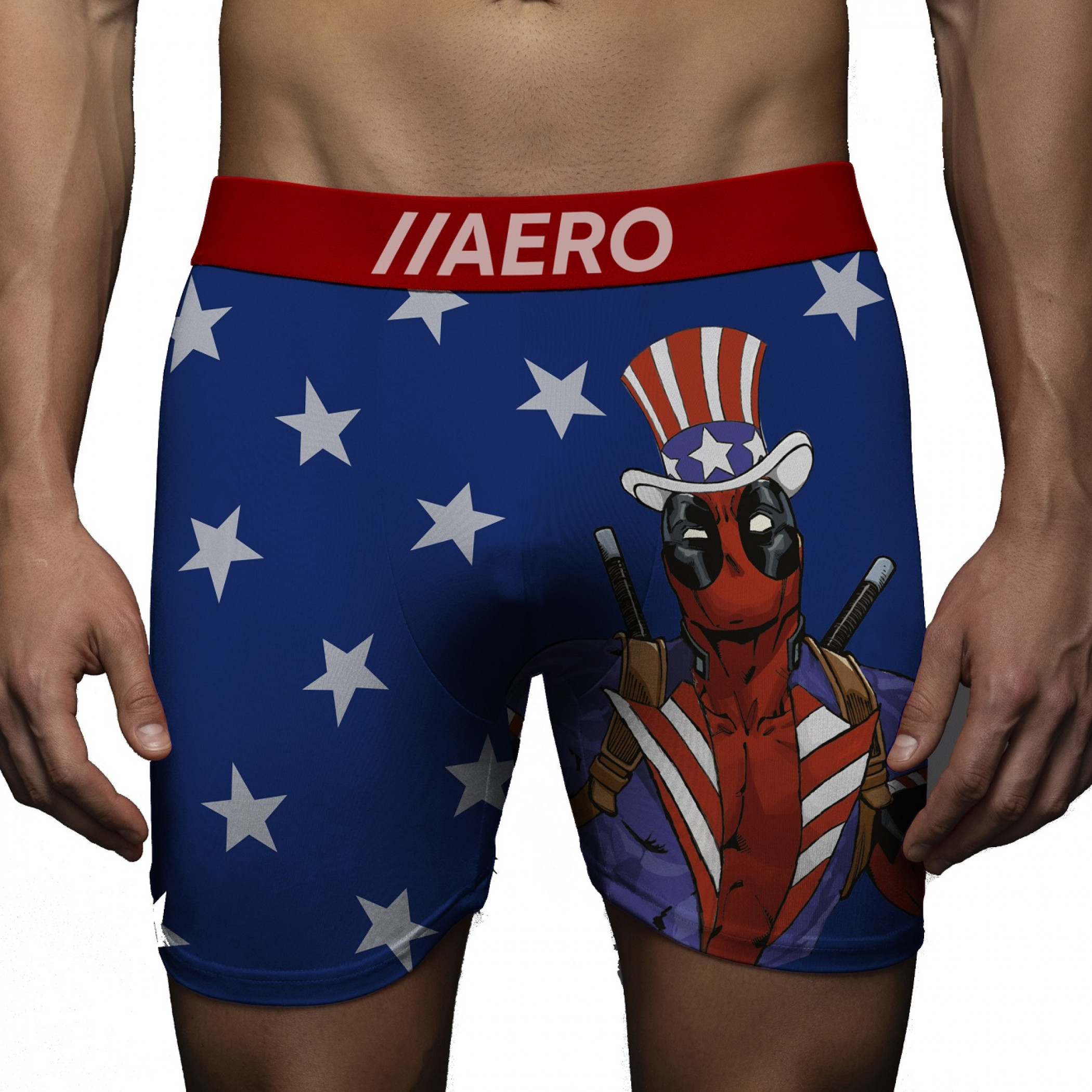 Deadpool Americana Boxer Briefs