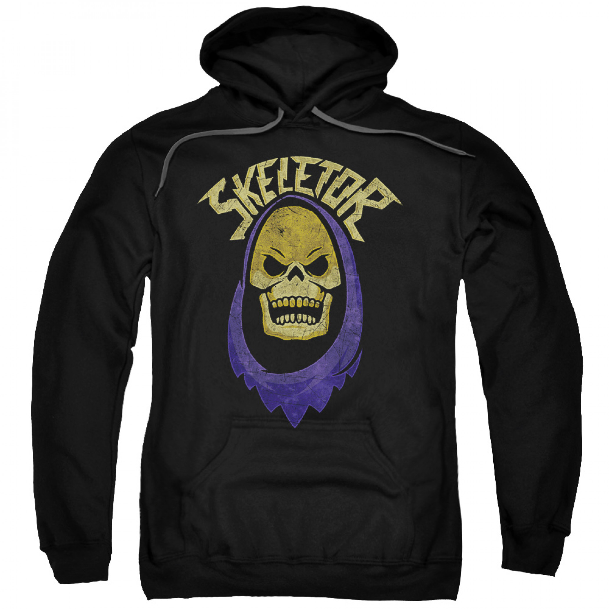He-Man Masters Of The Universe Skeletor Face Pull Over Hoodie