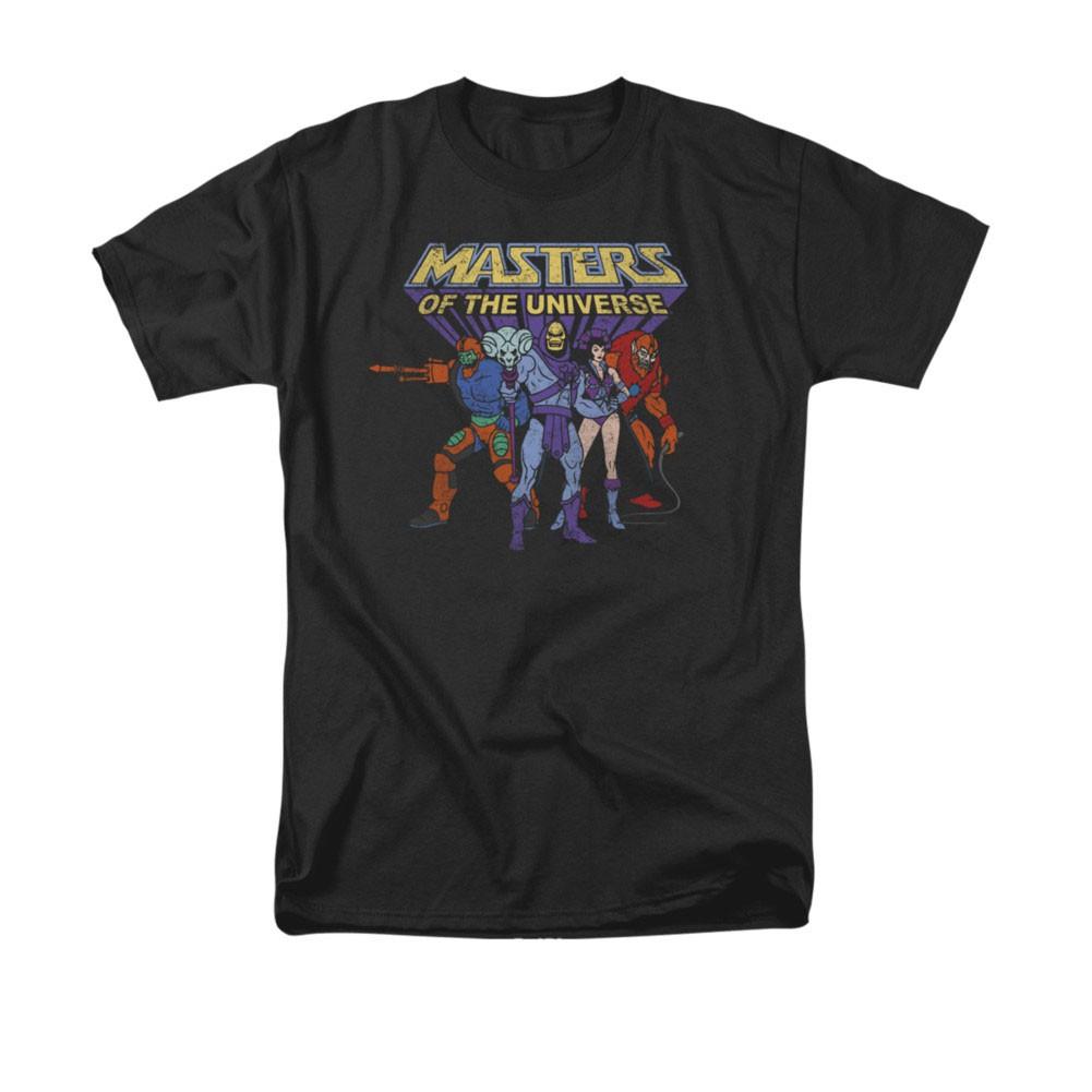 He-Man Masters Of The Universe Villains Black Tee Shirt