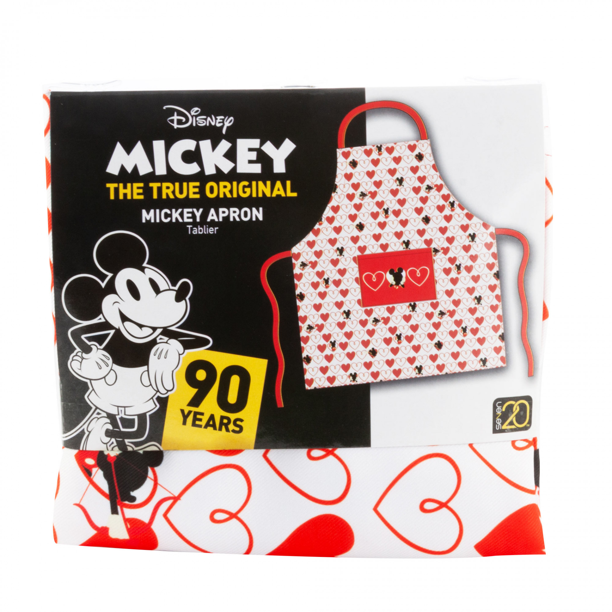 Mickey Mouse Hearts Apron
