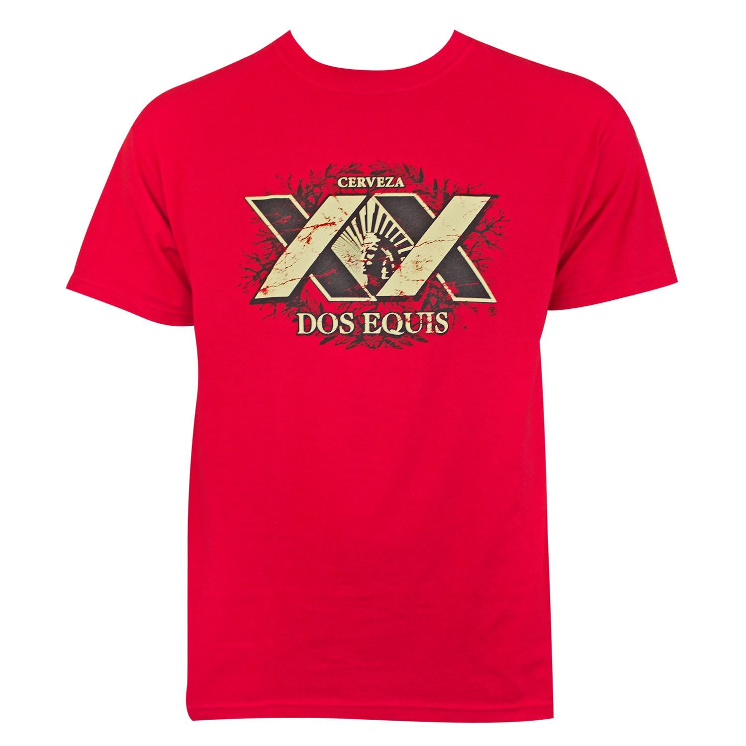 Dos Equis Red XX Logo Tee Shirt