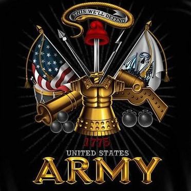 Black US Army This We'll Defend Long Sleeve Shirt