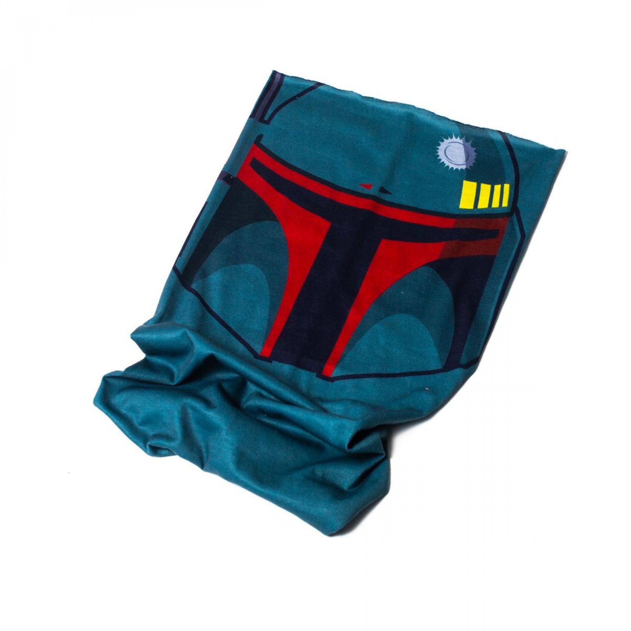 Star Wars Boba Fett Character Costume Full Face Tubular Bandana Gaiter