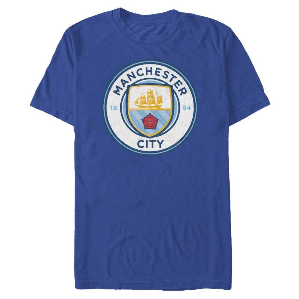 Manchester City Logo Soccer Blue T-Shirt