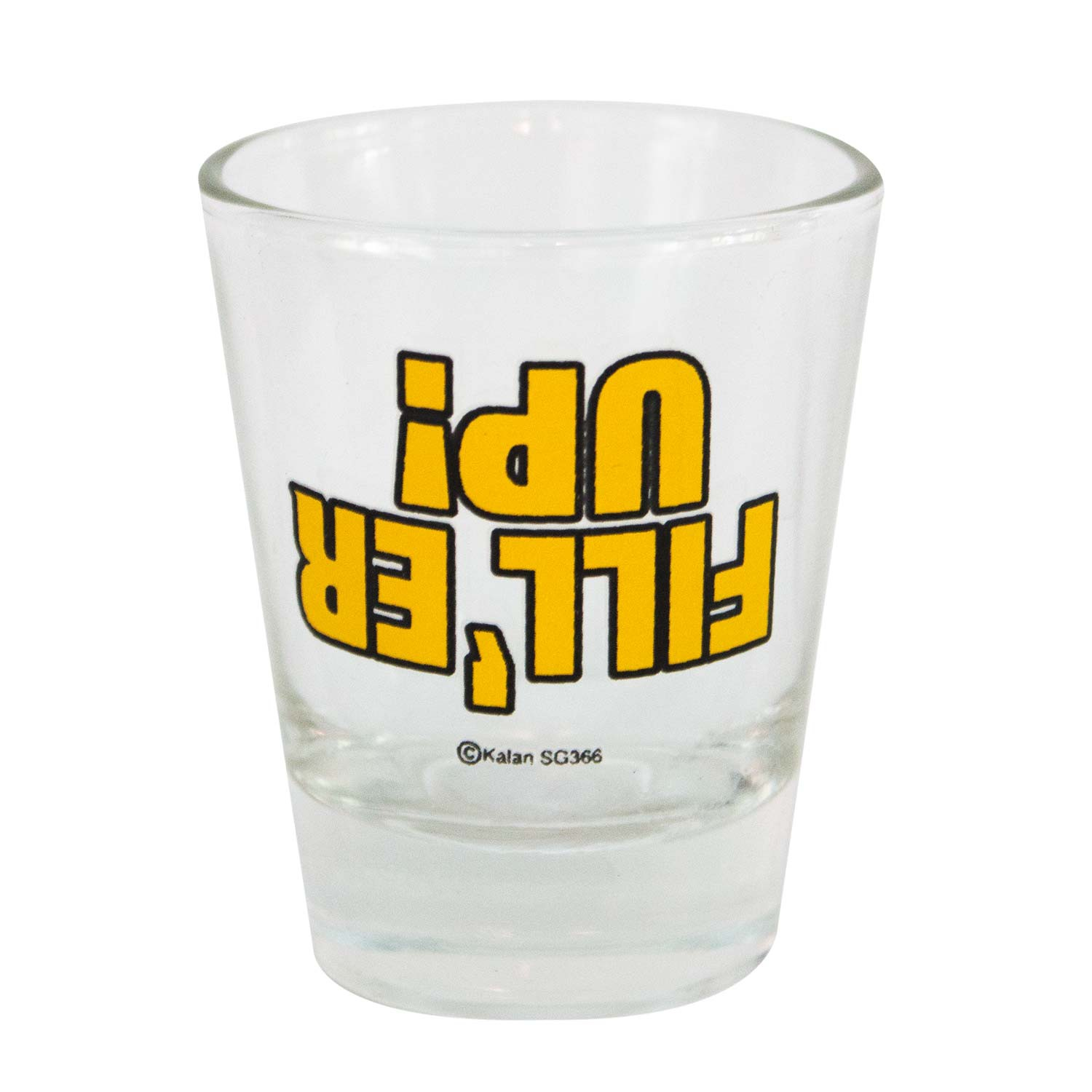 Fill'er Up Shot Glass