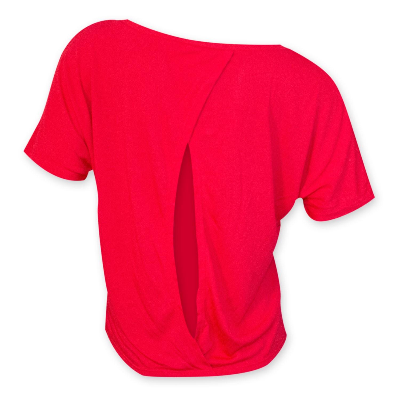 Fireball Open Back Alternate Logo Women's Tee Shirt