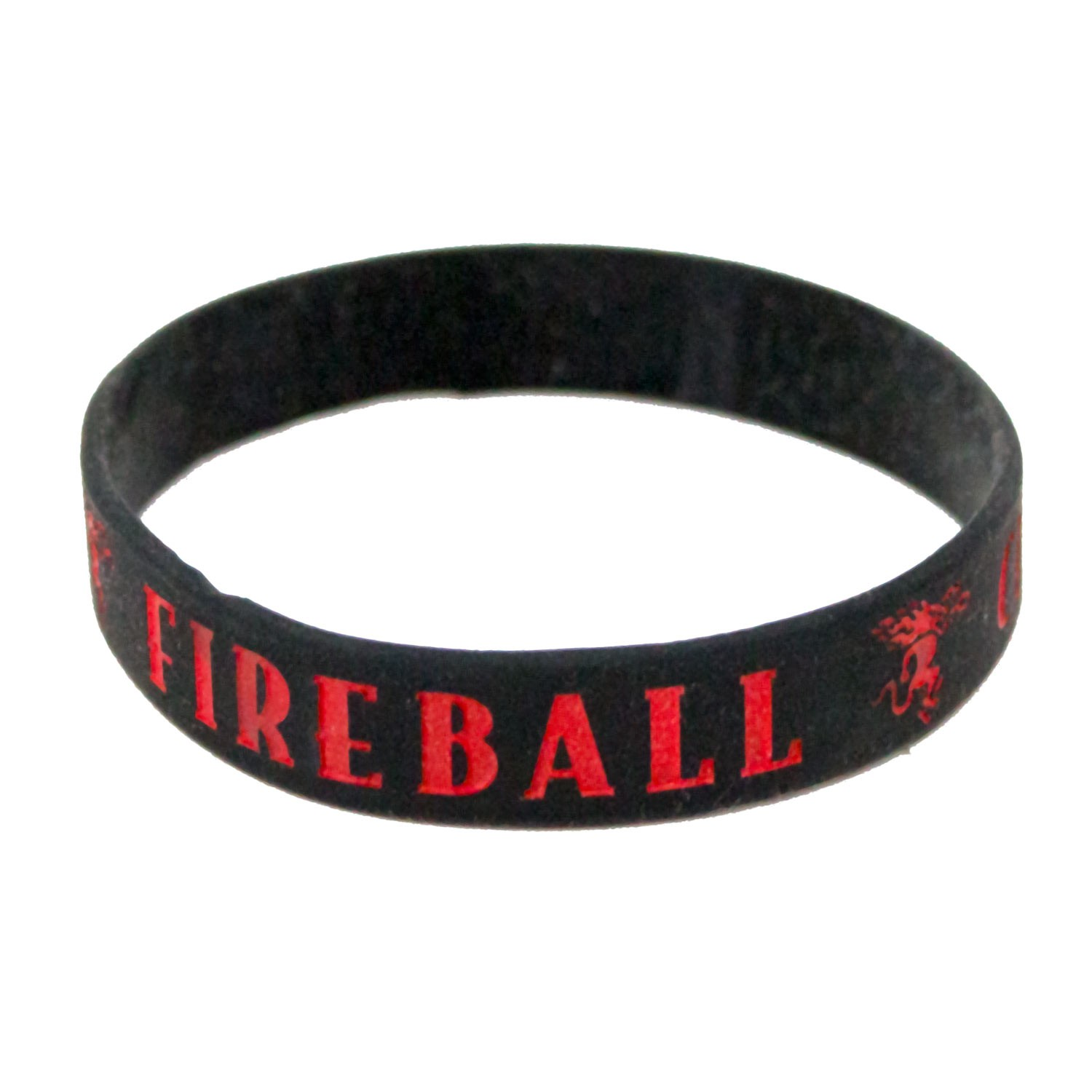 Fireball Whisky Rubber Bracelet
