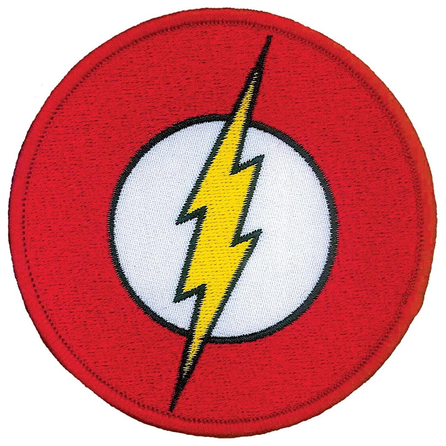 Flash Iron On Patch