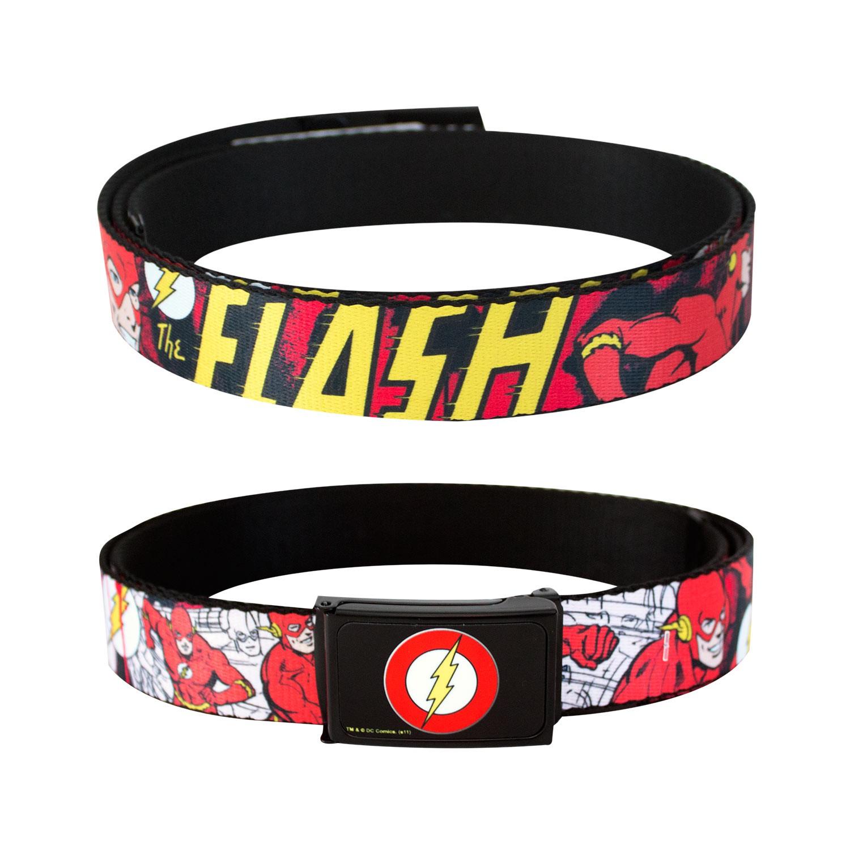 The Flash Comic Web Belt