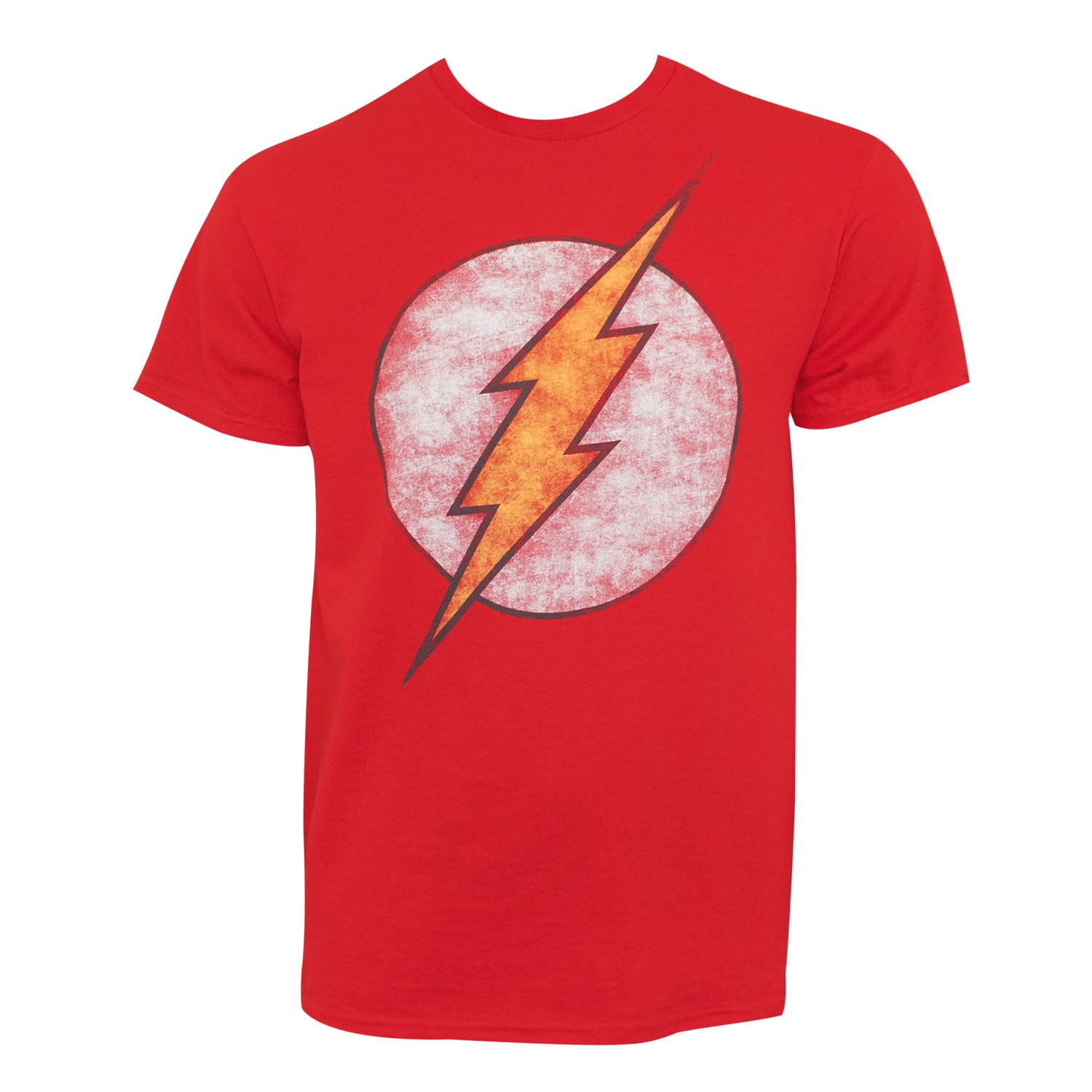 The Flash Distressed Washed Symbol T-Shirt